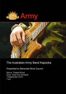 Army Band Kapooka FLYER